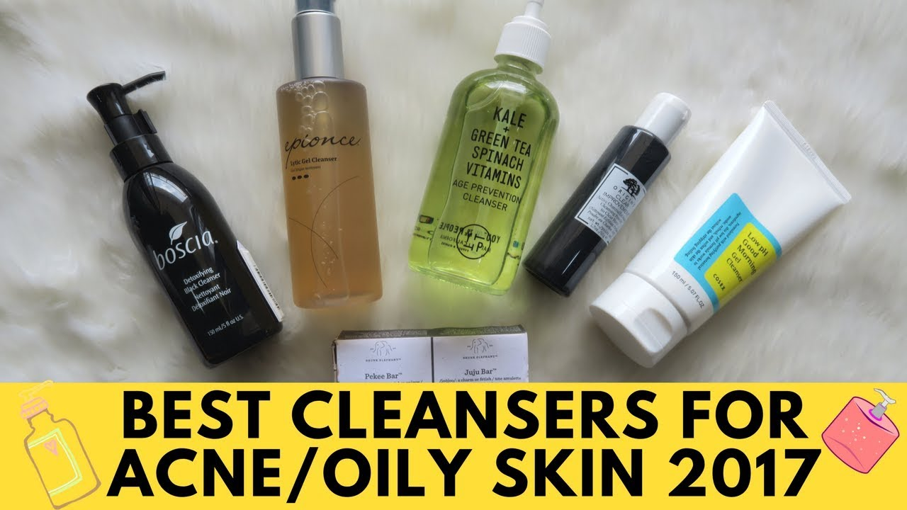 Best Cleansers For Acne Prone Sensitive Oily Skin 2017 Pia Tyagi Youtube