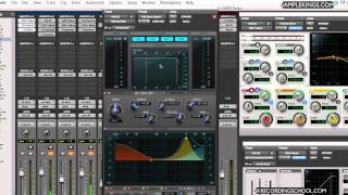 Pro Tools 10-Drum Mixing 1