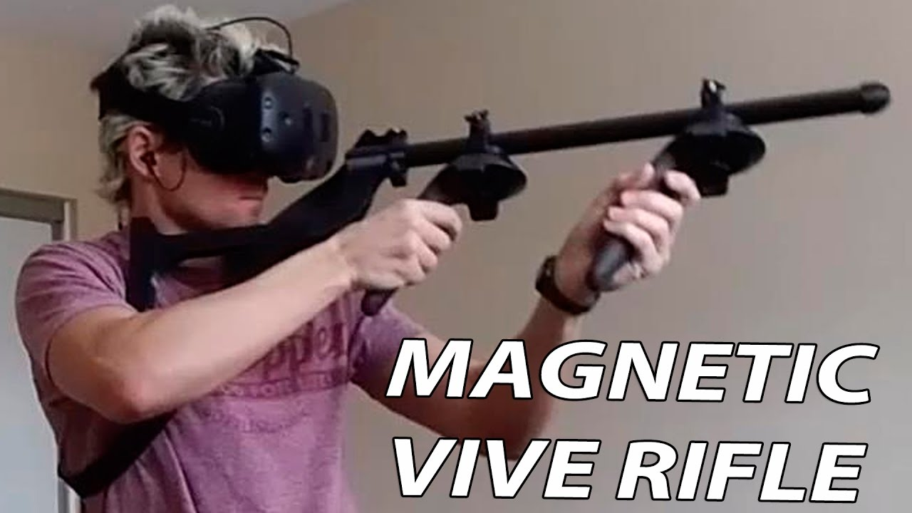 Are we going to get a VR Rifle for Rift/Vive like PSVR Aim