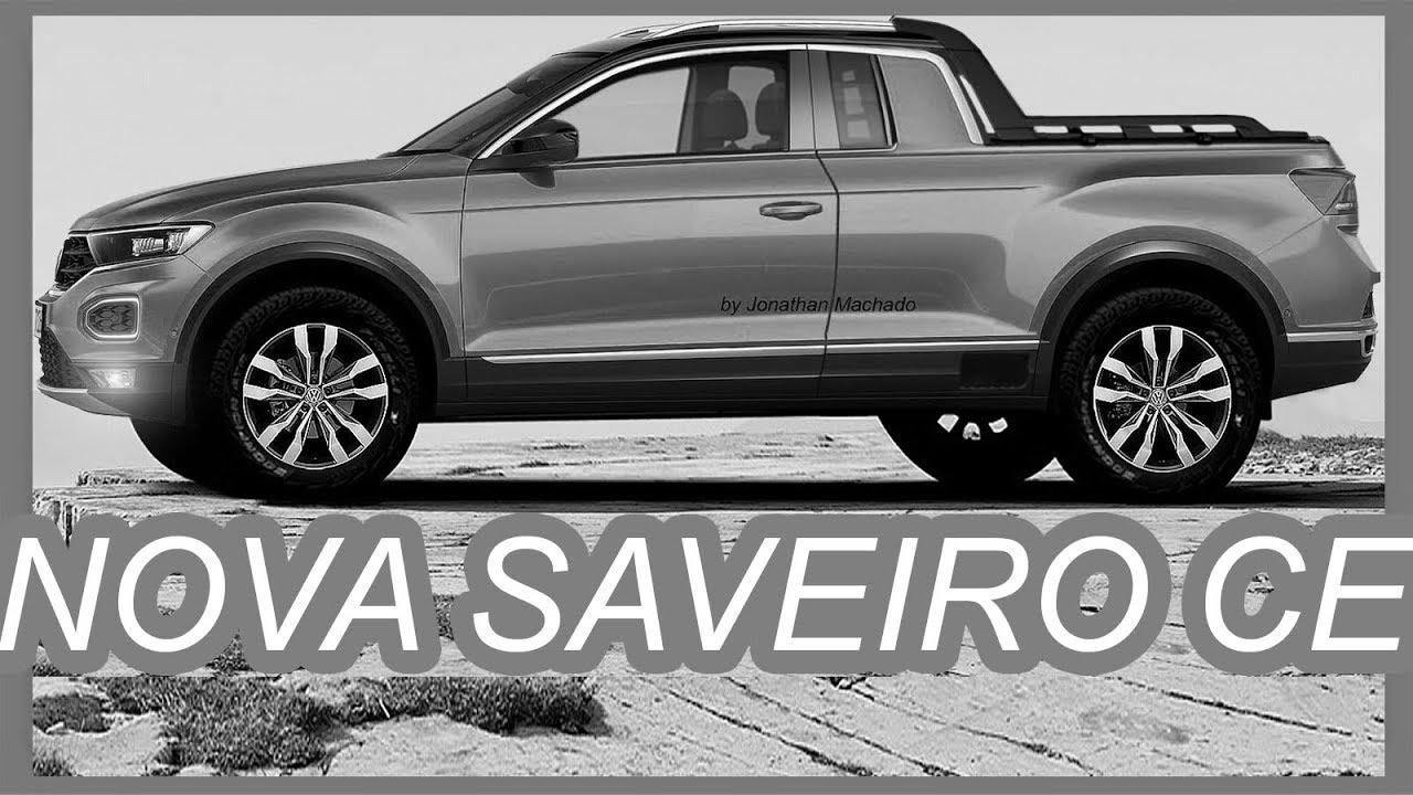RENDER Nova #VW #Saveiro 2019 CE Rival da #Fiat #Toro & # ...