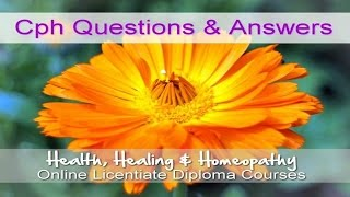 College Of Practical Homeopathy Questions & Answers with Ellen Kramer (MCPH)
