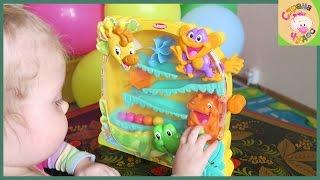 ОБЗОР Обучающая игрушка Playskool жираф и его друзья Рисунки маленького художника