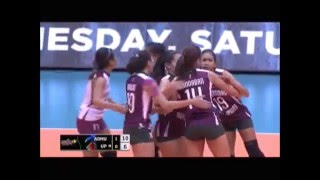 Nicole Tiamzon UAAP Season 78 Round 1 Highlights