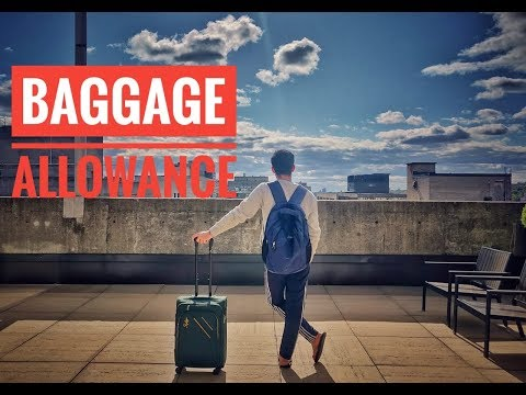 Vlog #4 | Baggage Allowance On INTERNATIONAL Flights |