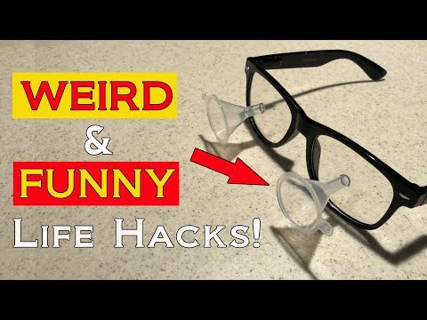Weird and Funny Life Hacks! Part 1