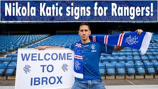 NIKOLA KATIC SIGNS A 4-YEAR-DEAL FOR RANGERS FOR £2M!