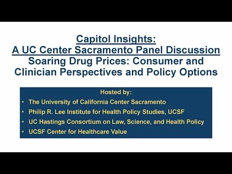 Soaring Drug Prices: Consumer and Clinician Perspectives and Policy Options