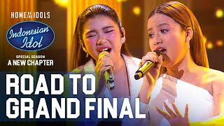 ANGGI X TIARA - TELL HIM - ROAD TO GRAND FINAL - Indonesian Idol 2021