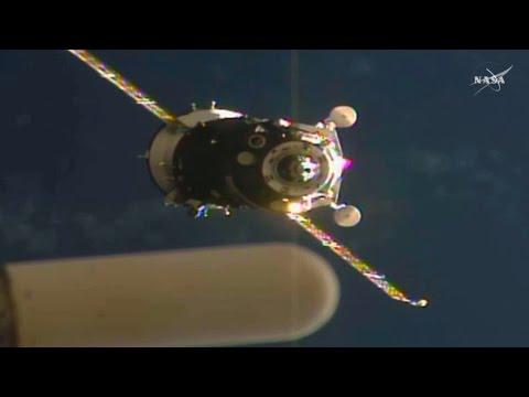 Full ISS-49 /48 Soyuz MS-01 docking coverage
