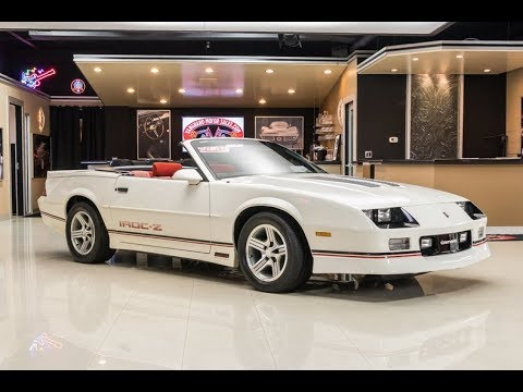 1989 chevrolet camaro iroc z28 convertible for sale youtube 1989 chevrolet camaro iroc z28 convertible for sale