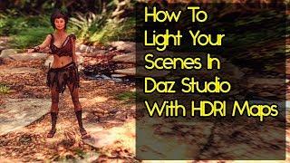Daz Studio HDRI Tutorial - Beginner