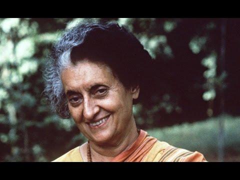 Indira Gandhi interview on food shortage problem (2)