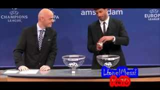 Uefa Champions League 2013 |Semi Finals Draw HD