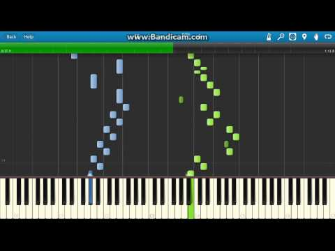J.S. Bach: Two-part Invention No. 1 in C Major BWV 772 piano (Synthesia)