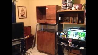 Aquarium Stand And Aquascape Build