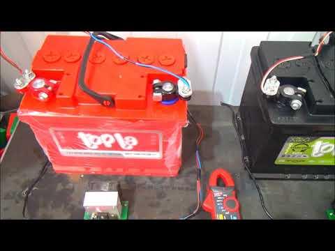 Реальная емкость аккумуляторов Topla Energy и Topla AGM Stop&Go. Часть 2.