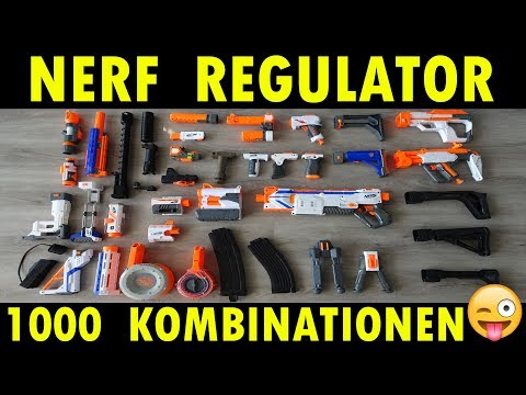 NERF MODULUS REGULATOR KOMBINATION / DERTESTMICHEL ZEIGT WIE