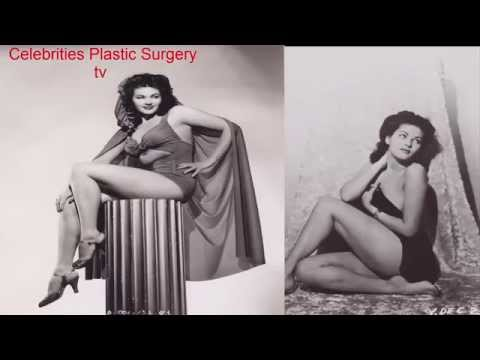 Yvonne De Carlo BEFORE AND AFTER young and old