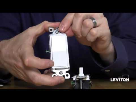 Leviton 3-way Switches - YouTube