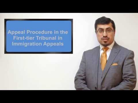 Immigration appeals in First Tier Tribunal (Urdu version)