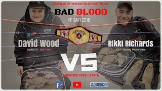 """BAD BLOOD"" David Wood VS Rikki Richards - Meadowlands Fishery - YouTube Challenge Fishing Match"