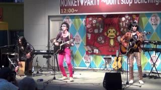 2011年8月8日(月) monkey heart party Don't stop believin' アスナル...