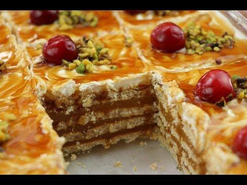 حلويات باردة سهلة وسريعة بدون فرن ب 3 وصفات رائعة مع رباح محمد thumbnail