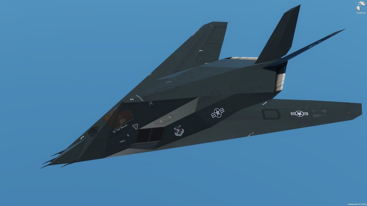 Released] F-117A Nighthawk