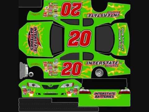 Nascar 09 Custom Cars | FunnyCat TV