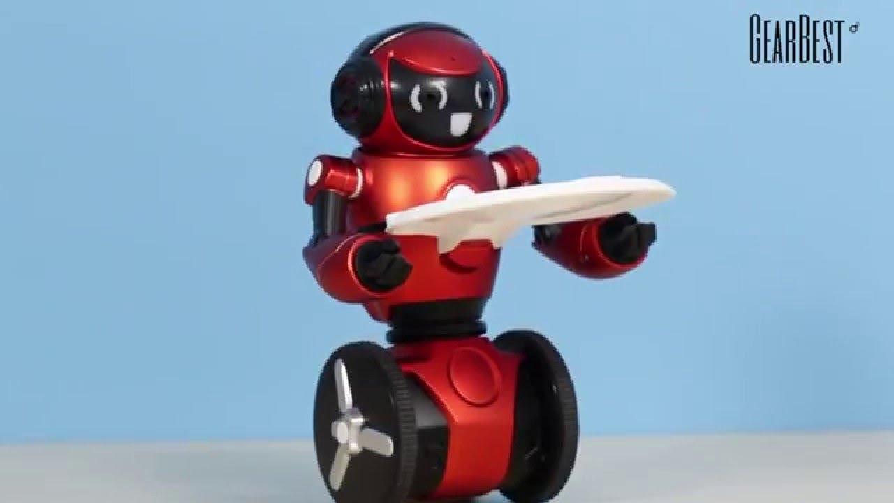 WLtoys F1 Lightweight 2.4G Robot <b>intelligent</b> Gearbest com - YouTube