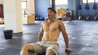 I VOMITED AT THE CROSSFIT !!