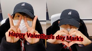【LIVE】Mark GOT7⚘? Happy Valentine's Day