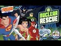 Justice League Action: Nuclear Rescue - Shut Down the Nuclear Reactors (Cartoon Network Games)