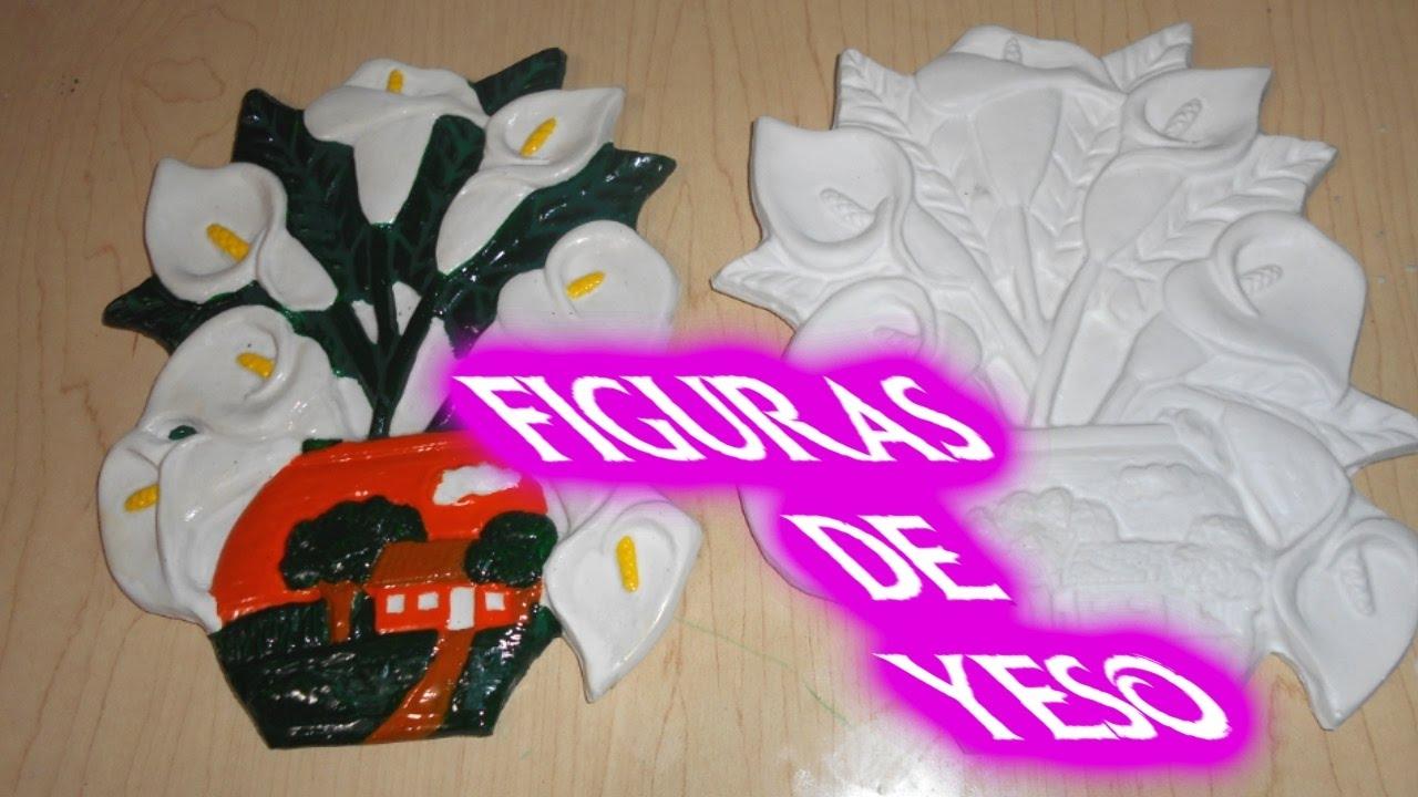 Como hacer figuras de yeso figura de alcatraz para decoracion del hogar elizabeth m c youtube - Figuras para decorar ...
