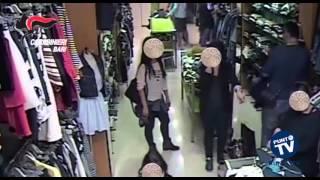 Bari: giacca sul braccio e 'mano di velluto', due presunti borseggiatori in manette
