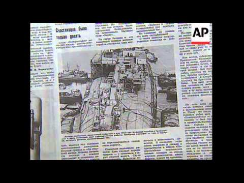 UKRAINE: SECRECY LIFTS FROM SOVIET UNION'S WORST MARITIME DISASTER