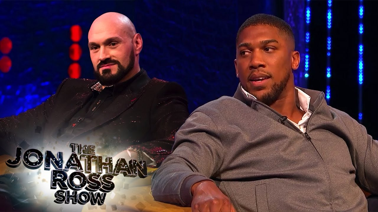 Download Anthony Joshua Won't Trash Talk Tyson Fury | The Jonathan Ross Show