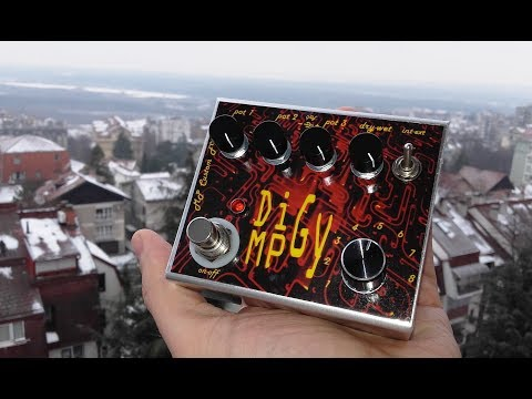 Super DiGy 16in1 pedal by MP Custom FX