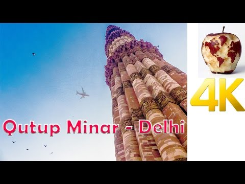 Qutup Minar | Travel India in 4K | Hyperlapse