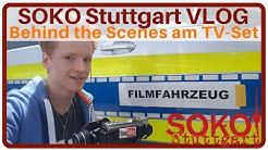 2Flash beim TV | SOKO Stuttgart | Krimiserie | + Interview mit Peter Ketnath alias Jo Stoll | VLOG