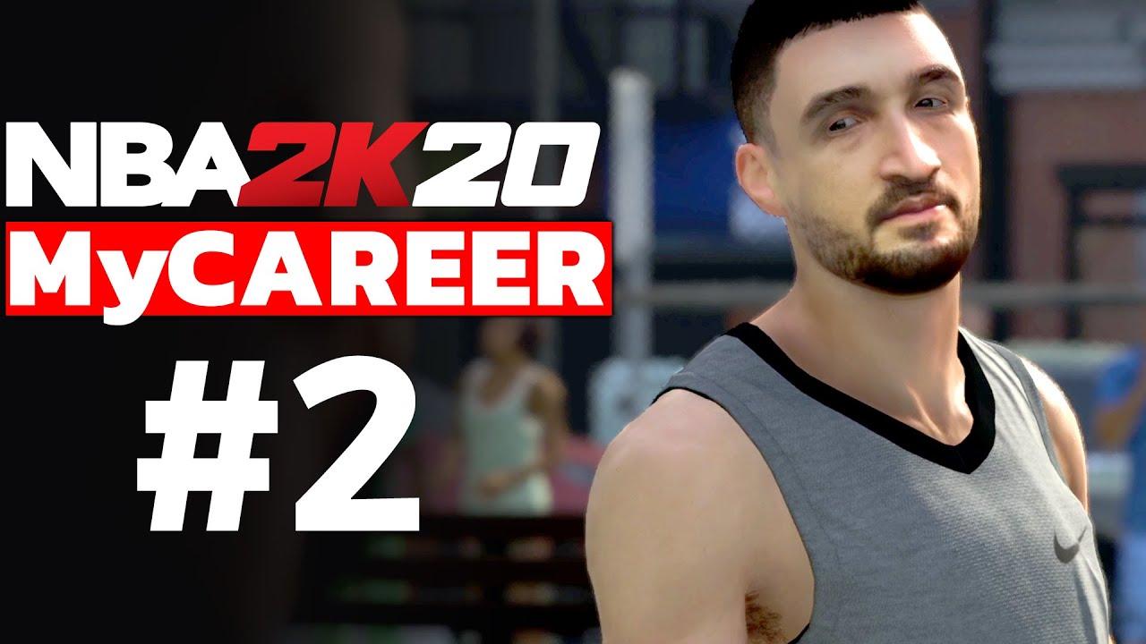 NBA 2K20 MyCAREER TÜRKÇE #2 // KENDİ YÜZÜMÜ YÜKLEDİM!! NBA YILDIZINA KARŞI 1v1