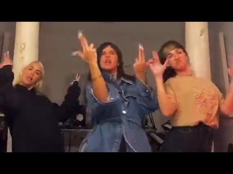 Nathy Peluso, Lali Espósito y Úrsula Corberó bailando la BZRP Music Sessions #36