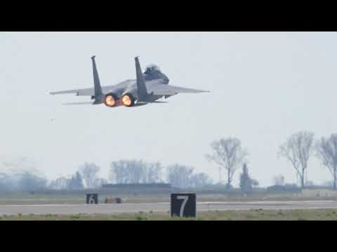 F-15s are unleashed