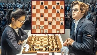 Hou Yifan Beat Mans chess players. Carlsen?