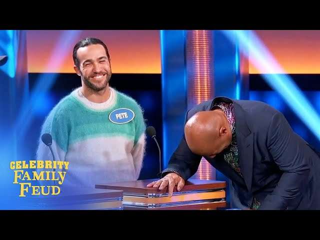 Pete Wentz for President? | Celebrity Family Feud
