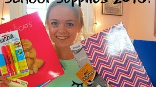 Repeat youtube video Back-to-School Supplies 2013 Haul!