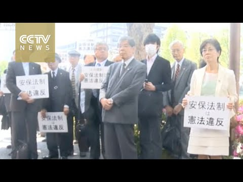 Japanese citizens sue government for constitution violation