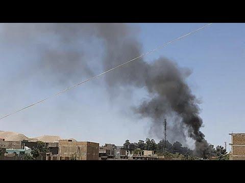 شاهد: معارك في أول مدينة كبرى تهاجمها حركة طالبان في شمال غرب أفغانستان…