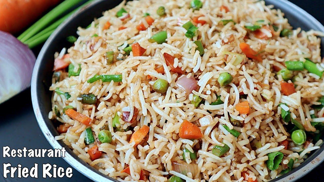 వెజ్ ఫ్రైడ్ రైస్👉రెస్టారెంట్ టేస్ట్ తో 10ని||లో రెడీఅయిపోతుంది👌 Vegetable Fried Rice In Telugu