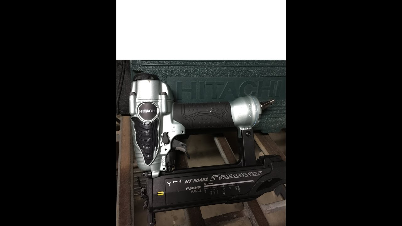 hitachi pin nailer. Hitachi NT 50AE2 (S) 2\ Pin Nailer